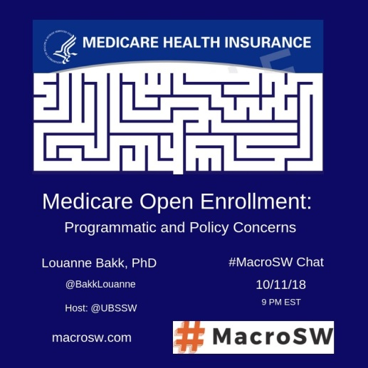 "Image of ""Medicare Health Insurance"" over image of a maze."