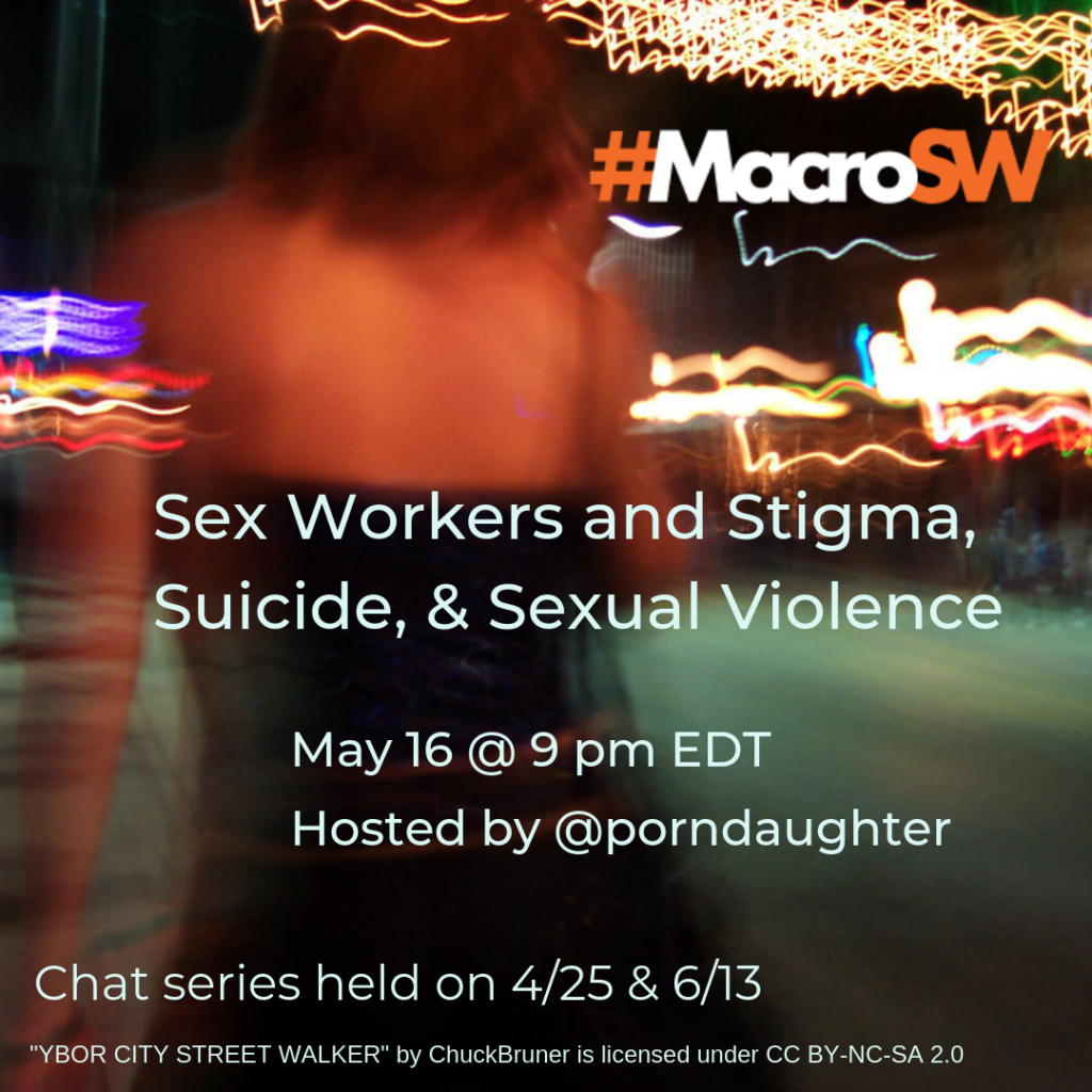 sex workers, decriminalization, social work, mental health, stigma